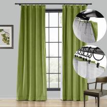 BIRKIN 4-in-1 Header Type Velvet Curtain Drapery Custom