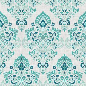 Nature Print Polyester Linen Curtain Drapery ELIJAH