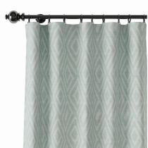 Geometric Print Polyester Linen Curtain Drapery ATELIER