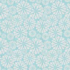 Geometric Print Polyester Linen Curtain Drapery CROWN