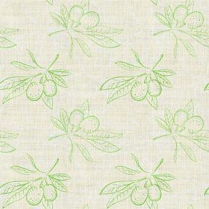 Nature Print Polyester Linen Curtain Drapery ATTICUS