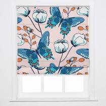 ALICE Nature Print Polyester Linen Roman Shade