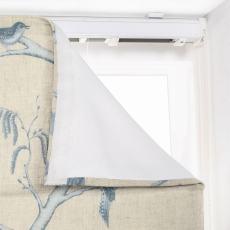 LUNA Rural Pastoral Print Polyester Cotton Roman Shade