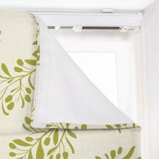 JASPER Nature Print Polyester Linen Roman Shade