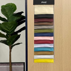 PAZ Solid Polyester Fabric Swatch Refundable Order Amount Over $399