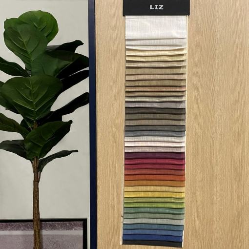 LIZ Fabric Swatch Faux Linen Refundable Order Amount Over $499