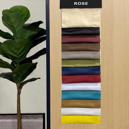 ROSE Outdoor Waterproof Fabric Swatch Refundable Order Amount Over $399