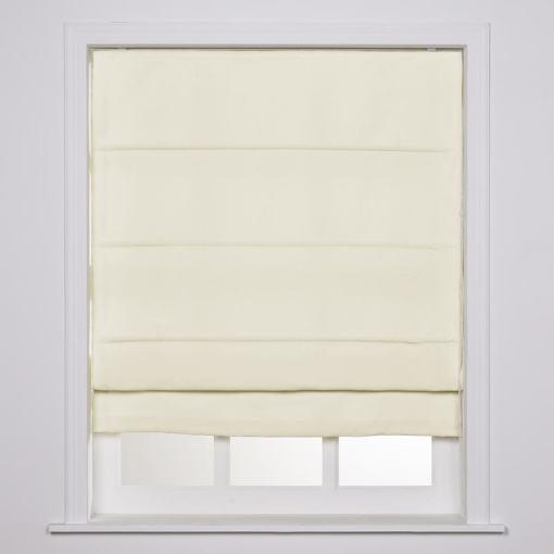 YEFFA Polyester Room Darkening Roman Shade