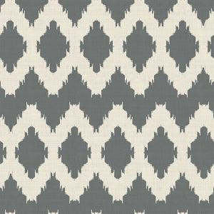 Geometric Print Polyester Linen Curtain Drapery HENRY