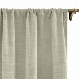 LIZ Polyester Linen Curtain Drapery Custom