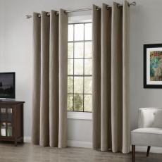 TRENCH Heavy Weight 100% Linen Curtain Drapery Custom