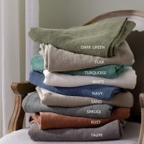TRENCH 100% Linen Fabric Swatches