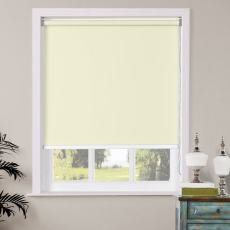 OWEN Window Blinds Roller Shade with Loop Control 100% Blackout Roller Blind, For Bath Living Kitchen Dining Room and Office