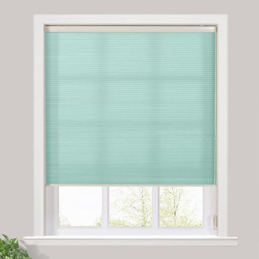 PEYTON Classic Cord Lift Light Filtering Cellular Shade White Backing Honeycomb Shade