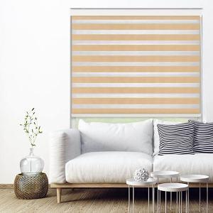 BRYANT Essential Light Filtering Dual Shade Room Darkening Zebra Blinds