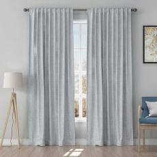 Solid Curtain Polyester Cotton Drapery HEIDI