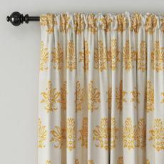 Abstract Print Polyester Linen Curtain Drapery JENNIFER
