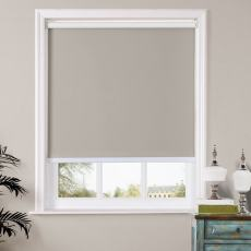 WAYNE Window Roller Shade with Loop Control Roller Shades 100% Blackout For Bath Living Kitchen Dining Room and Office