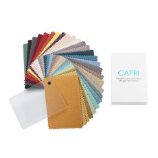CAPRI Fabric Swatch Polyester Cotton Blackout Refundable Order Amount Over $399