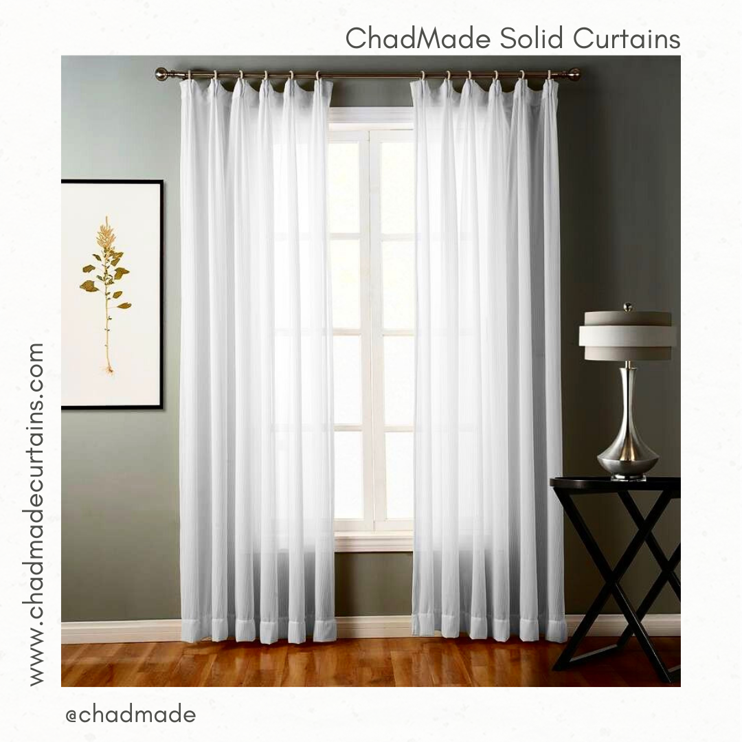 chadmade solid curtains