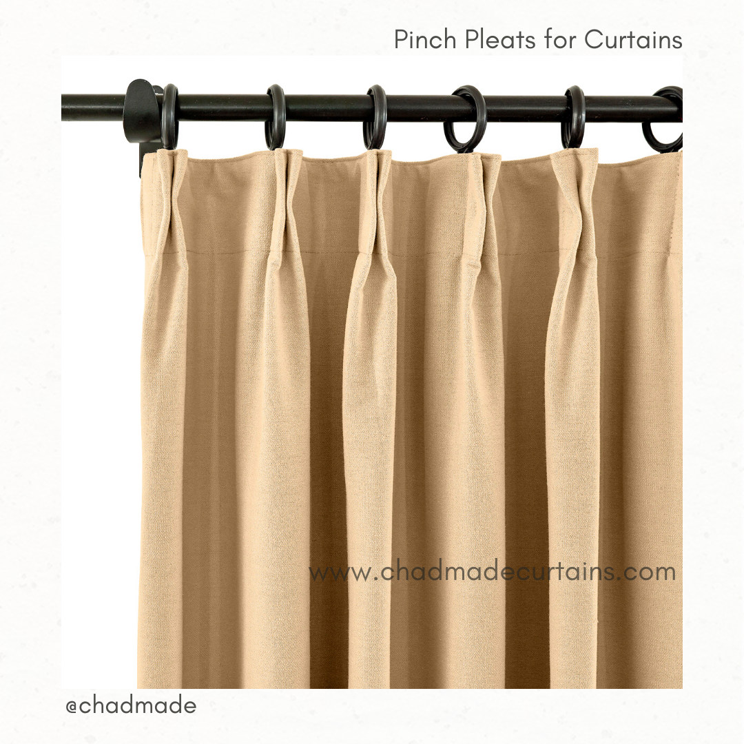 pinch pleats for curtains