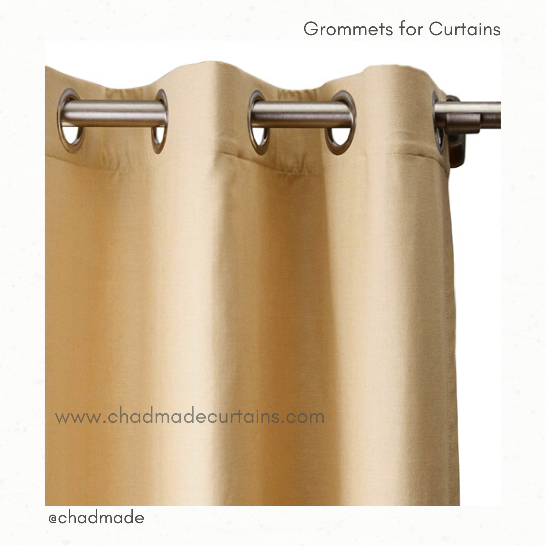 Grommets for curtains