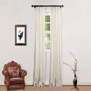 Lacey Linen Curtain Drapery Custom