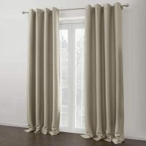 CUSTOM Insulated Thermal Blackout Polyester Nickel Grommet Curtain Drapes 5 Colors