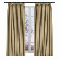 Room Darkening Curtain Drapery Panel Yeffa