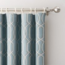 Imperial Trellis Curtain Drape Panel Lucy
