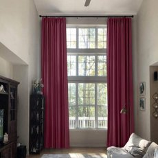 Pinch Pleat Extra Long Drapes Blackout Loft Farmhouse Curtains