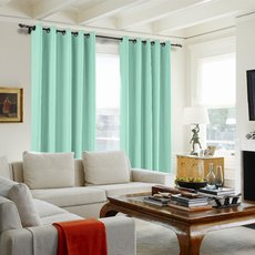 100% Blackout Curtain Thermal Foam Coated Drapery Saba Custom