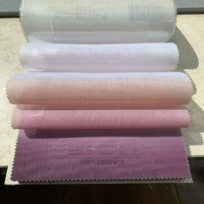 HANNA Gradient Ombre Sheer Fabric Swatch Refundable Order Amount Over $399