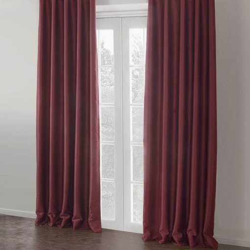 Insulated Thermal Blackout Polyester Nickel Grommet Curtain Drapes