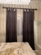Blackout Lined Velvet Curtain Drapery Panel For Traverse Rod or Track Birkin