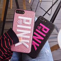 Embroidered Victoria's Secret Pink Phone Case