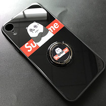 Apple Supreme Iphone X Case Anti-fall Glass Mobile Phone Case