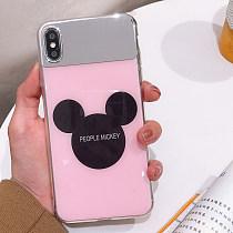 Mickey Iphone7 Case Anti-Scratch Mirror TPU All-Inclusive Mirror Cover