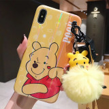 Apple Iphone Xsmax Phone Case Winnie the Pooh Pendant
