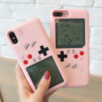 Tetris Apple iPhoneX Game Console Phone case