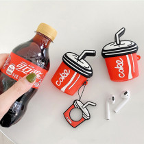 Coca-Cola Apple Airpods Cover Bluetooth Wireless Headset
