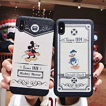 Donald Duck Apple Iphone7/8plus Case Mickey