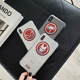 Marvel Avengers iPhone case corner anti-fall soft TPU shell iPhone 6 6s 7 8 X XS XR Max Cover