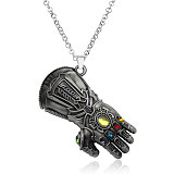Marvel around Avengers 4 Defensive Infinite Glove Model Palm Keychain