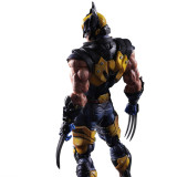 Kai X-MEN Wolverine action Figure Cool Play product arts PVC 26CM 10.23  Anime TOY GIFT Doll Model Collection