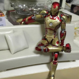 Avengers Iron Man Garage Kit GK MK42 Doll 150MM marvel Hero Action Figure