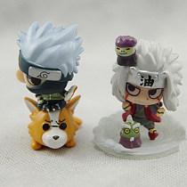 6Pcs/Kits Naruto World War GARAGE KIT Figure Action PVC Model Doll Toy