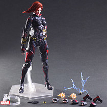 Avengers Black Widow Garage Kit Marvel GK PVC Action Figure Model Doll toy