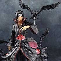 Yu Zhi Bo weasel GARAGE KIT Naruto Sasuke's brother Action Figure PVC Model Toy