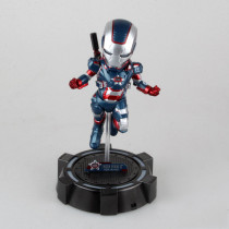 Marvel IronMan Action Figure GARAGE KIT GK PVC Model Kit Doll Toy